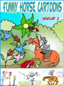 Funny Horse Cartoons Amazon Kindle Edition - Issue One Available Now!